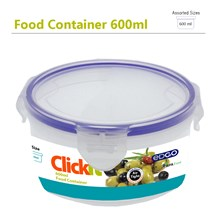 EDGO - CLICKIT 600ML ROUND FOOD CONTAINER