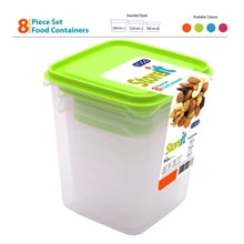 EDGO - STOREIT FOOD CONTAINER SET - 8 PACK