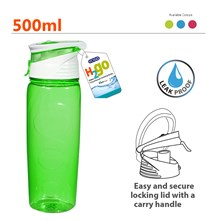 EDGO H2GO 500ML WATER BOTTLE