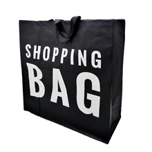 WOVEN SHOPPING BAG LARGE
