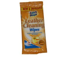 FABRIC MAGIC LEATHER CLEANING WIPES