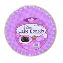 "QUEEN OF CAKES - 12"" CAKE BOARDS"
