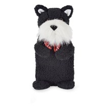HOT WATER BOTTLE BLACK SCOTTY DOG
