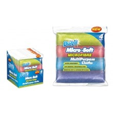 DUZZIT - MICROFIBRE CLOTH - 4 PACK