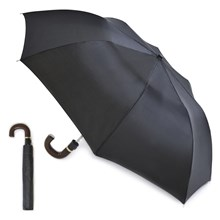 MENS AUTO FOLDING UMBRELLA - BLACK