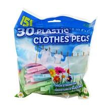 151 - PLASTIC PEGS - 30 PACK