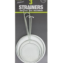 COOKS CHOICE - STRAINERS - 3 PACK