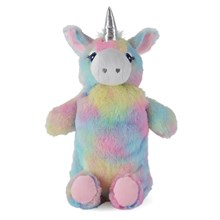 HOT WATER BOTTLE RAINBOW UNICORN 750ML
