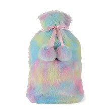 HOT WATER BOTTLE PASTEL RAINBOW 2L