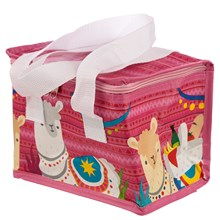 WOVEN INSULATED LUNCH BAG - LLAMA