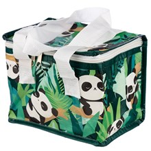 WOVEN INSULATED LUNCH BAG - PANDA