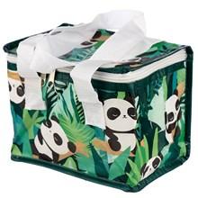 WOVEN INSULATED LUNCH BAG - PANDA