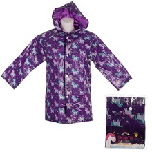 RAINBOW UNICORN CHILDRENS RAINCOAT