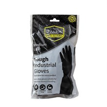 PRO-GUARD INDUSTRIAL RUBBER GLOVES - MEDIUM 1PK