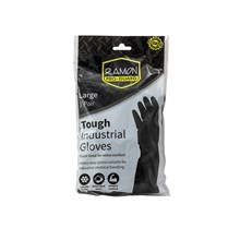 PRO-GUARD INDUSTRIAL RUBBER GLOVES - LARGE 1PK