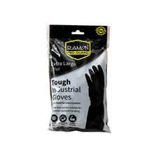 PRO-GUARD - INDUSTRIAL RUBBER GLOVES - XL 1 PAIR