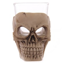 GRUESOME SKULL - MINI SHOT GLASS