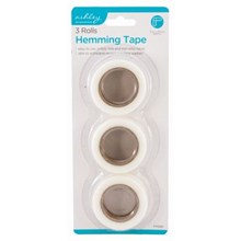 ASHLEY - HEMMING TAPE 25MM X 10M - 3 PACK