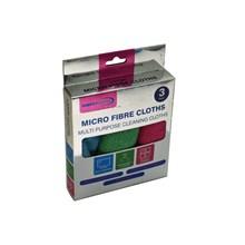SIMPLYCLEAN - MICROFIBRE CLOTHS - 3PACK