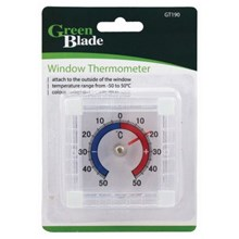 GREEN BLADE - WINDOW THERMOMETER