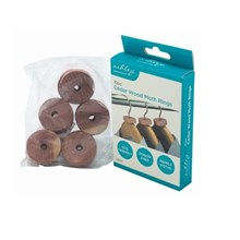ASHLEY - CEDAR WOOD RINGS - 10 PACK