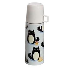 STAINLESS STEEL FLASK - FELINE CAT 350ML