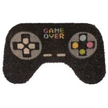 COIR DOOR MAT - GAME OVER CONTROLLER SHAPE