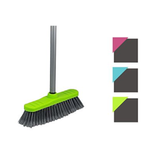 HOBBY MOP - SOFT BROOM WITH HANDLE - 2ASST