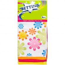 BETTINA - MICROFIBRE CLOTH - 4 PACK