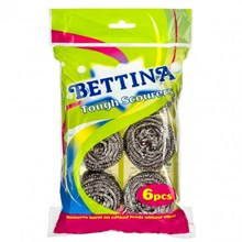 BETTINA - TOUGH SPIRAL SCOURERS - 6 PACK