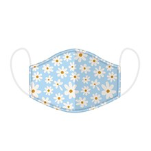 REUSABLE FACE MASK - OOPSIE DAISY - LARGE SIZE