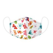 REUSABLE FACE MASK - BUTTERFLY HOUSE - LARGE SIZE