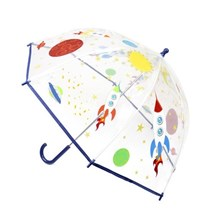 KIDS CLEAR DOME UMBRELLA - SPACE