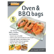 TOASTABAGS - OVEN & BBQ BAGS STANDARD - 6 PACK