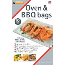 TOASTABAGS - OVEN & BBQ BAGS LARGE - 10 PACK