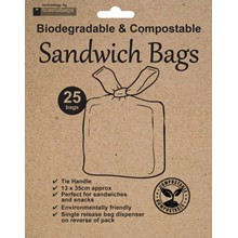 TOASTABAGS ECO - SANDWICH BAGS - 25 PACK