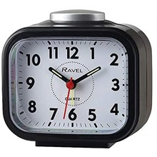 RAVEL - BEEP & BELL ALARM CLOCK - BLACK