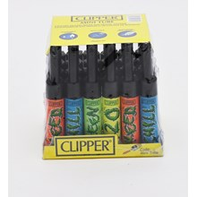 CLIPPER MINI TUBE - WEED LETTERS - 24 PACK