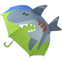 3D KIDS UMBRELLA - SHARK