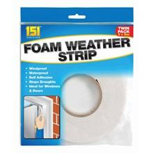 151 - FOAM WEATHER STRIPS - 2 PACK