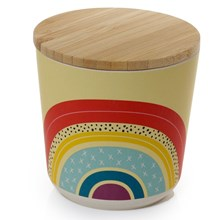 BAMBOO CANISTER - RAINBOW - SMALL