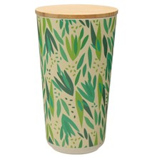 BAMBOO CANISTER - WILLOW - LARGE
