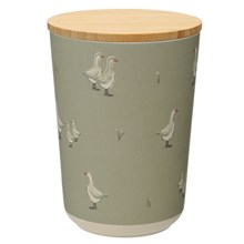 BAMBOO CANISTER - WILLOW FARM - MEDIUM