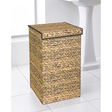 DELUXE LAUNDRY HAMPER - HYACINTH