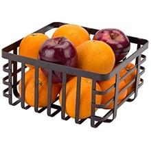 APOLLO - FLAT IRON FRUIT BASKET - SMALL
