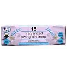 TIDYZ - FRAGRANCED SWING BIN LINERS - 15 PACK