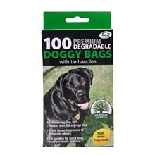 PREMIUM DOGGY POO BAGS - 100PACK