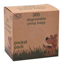 TIDYZ - DEGRADABLE DOGGY BAGS - 300PACK
