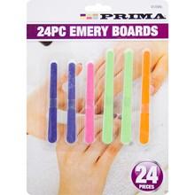 PRIMA - 24PC NAIL EMERY BOARDS