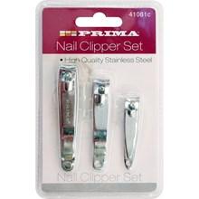 PRIMA - 3PC NAIL CLIPPER SET